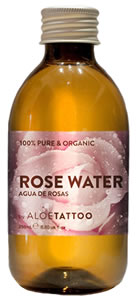 ROSE WATER 250 ml by ALOE TATTOO
