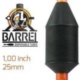 BARREL DISPOSABLE TUBES 3 diamond BOX 10PCS