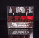 MAKS KORNEV SET BLOOD COLOR 4 X 30 ML by WORLD FAMOUS