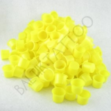 CAPS YELLOW 10 MM x 100