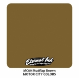 MUDFLAP BROWN 30ml MOTOR CITY by ETERNAL