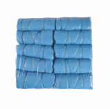 BED BLUE COVER (ELASTICS) pack 10 pcs