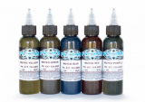 MUTED COLOUR SET 5 x 30 ml by FUSION