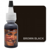 BROWN BLACK by CUSTOM COSMETIC COLORS X 7,5 ML