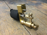 MK2 SLIMLINE BRASS 4,2 MM with Needle tensor by ROTARY WORKS