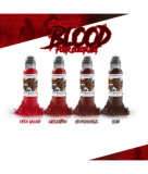 MAKS KORNEV SET BLOOD COLOR 4x30ml by WORLD FAMOUS