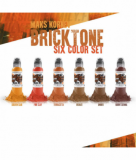 MAKS KORNEV SET BRICK TONE COLOR 6x30ml by WORLD FAMOUS