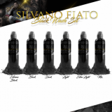 SILVANO FIATO SET 6x120ml by WORLD FAMOUS TATTOO INK